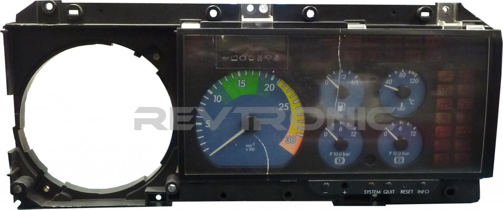 mercedes atego 815 truck instrument cluster dash repair no gauges or rh revtronic com mercedes atego 815 wiring diagram Mercedes- Benz Axor